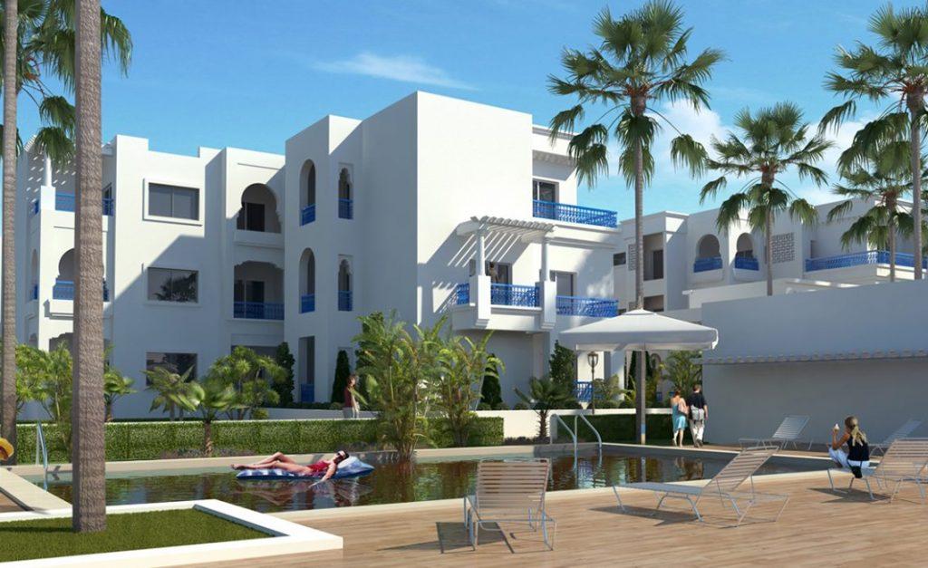 residence eden palm monastir